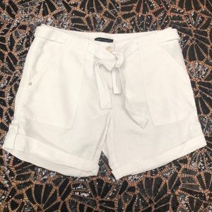 NWT $79 Sanctuary White Linen Pocket Shorts
